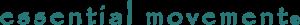 Logo for essential movement Pilates