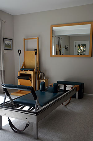 Pilates Reformer and High Chair
